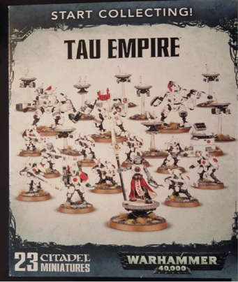 Warhammer Starter Set Unboxing – Tau Empire | Card Addicts Blog